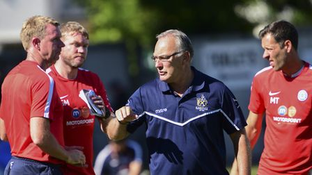 St Albans City's manager Ian Allinson. Picture: BOB WALKLEY