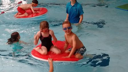 Centre manager Graham Johnson-Mack hopes the work means youngsters can learn to swim in the pool for