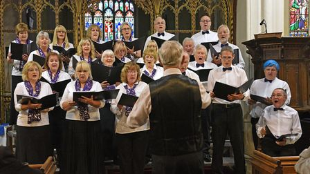Rotary Club of Huntingdon Cromwell Summer Songfest.
