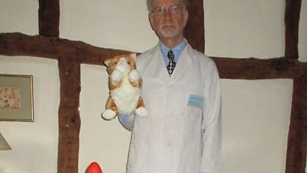 Ute's husband Richard will make an appearance as Professor Boggle at their Royston event.
