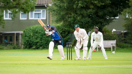 Radlett kept the pressure on Welwyn Garden City with victory over Letchworth. Picture: LUKE DUFFELL