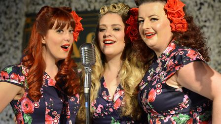 The Polka Dot Dolls at Ramsey 1940s weekend.