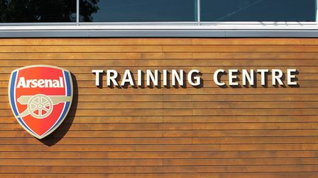 Arsenal's training ground is located in London Colney