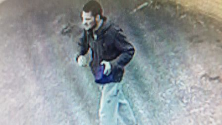 CCTV images released in connection with the theft of bicycles.