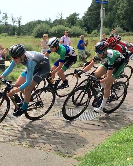St Albans trio Oli Stockwell, Joe Bennett and Archie Peet were all part of Welwyn Wheelers squad at