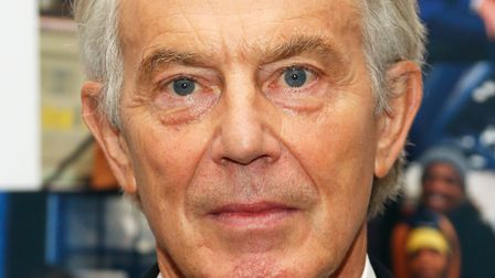 Former prime minister Tony Blair. (Photo by Lars Niki/Getty Images for Cantor Fitzgerald)