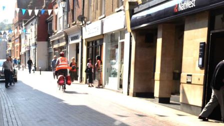 Royston's High Street is to be resurfaced as part of the work next month.