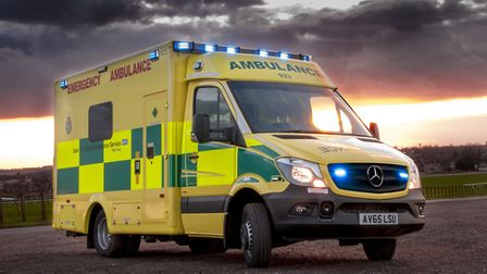 The ambulance service was called to a collision on the A505 near Royston.