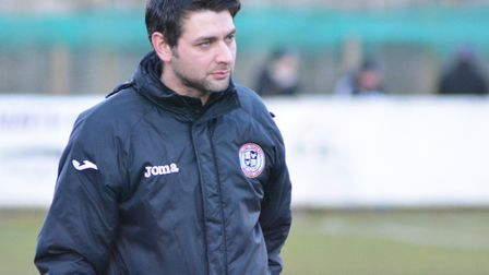 St Ives Town manager Ricky Marheineke.