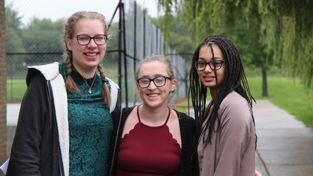 Rebecca Hayward has a place to study veterinary science at Cambridge, Dani Fort is heading to Birmin