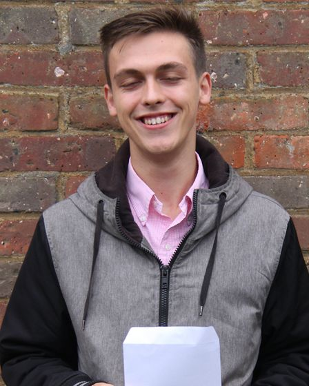 Head boy George Marler is going on to study medicine at Oxford.