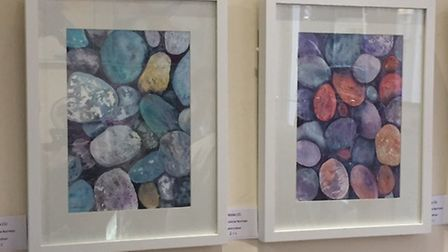 Artwork showcased at the exhibition.