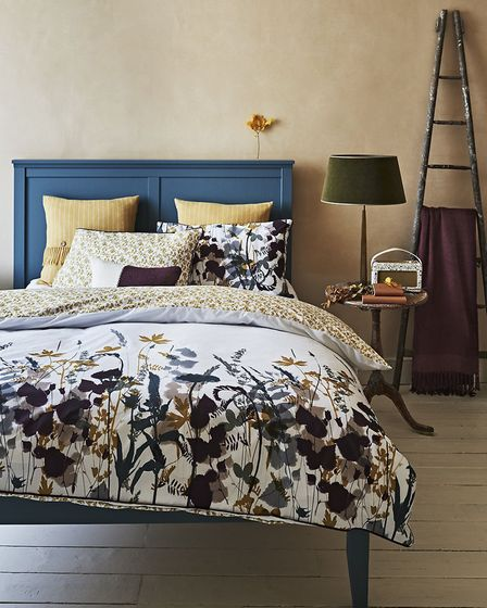 Woodland Walk: Crop print bedlinen, double set, £21, Sainsbury's Home (available in major stores and