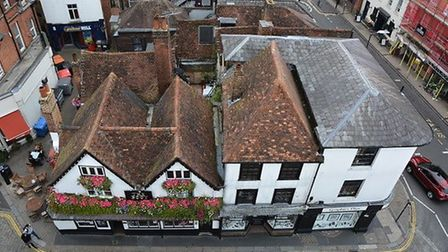 View from St Albans Clock Tower. Picture: Dave Allen.