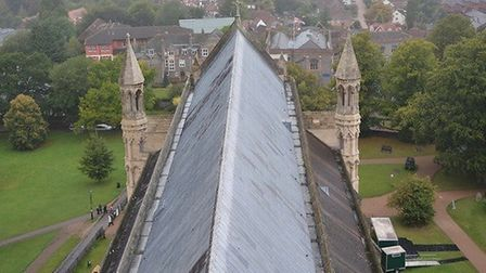 View from St Albans Cathedral. Picture: Dave Allen.