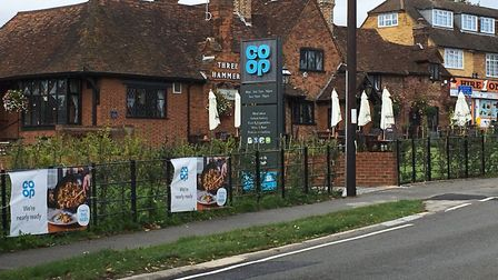 Co-op by The Three Hammers pub