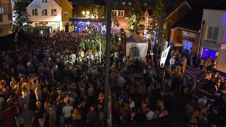 Ad Hoc organised Royston's biggest music event, Summer Soul to the Square.