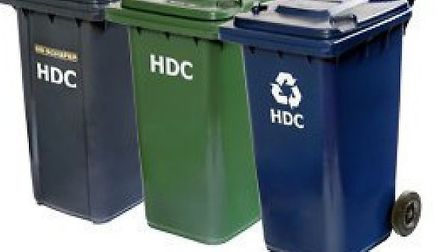 HDC is encouraging people to recycle.