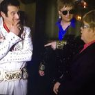 Elvis Shmelvis on BBC TV's Even Better Than The Real Thing.