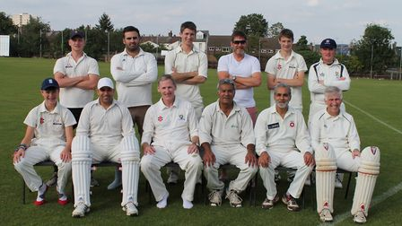 Old Albanian thirds have won the Division 10A title in the Saracens Herts League