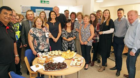 Heidi Allen invited community members and business owners to the official opening of her new office