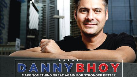 Danny Bhoy will be appearing at The Alban Arena in St Albans