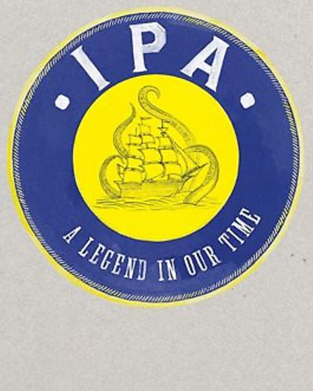The cover of IPA: A Legend in Our Time by Roger Protz. Photo supplied by the author.