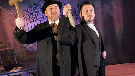 Northumberland Theatre Company production ofDRACULA - The Travesty!adapted by Stewart Howsonfro