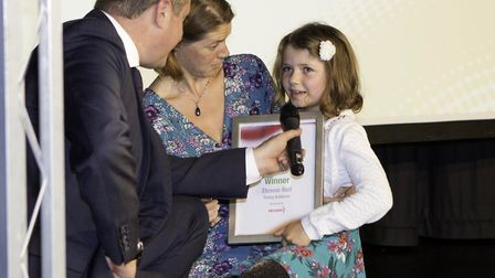 David Croft interviews the Young Achiever of the Year winner Eleanor Bull.