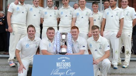 Reed CC champions of England. Credit The Cricketer