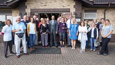 The launch of the Changing Lives initiative in Somersham.