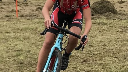 Beatrice Pauley claimed a podium finish in the West Midlands League.