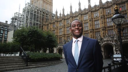 Hitchin & Harpenden MP Bim Afolami outside the Houses of Parliament. Picture: Danny Loo