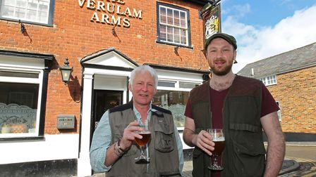The Foragers at the Verulam Arms co-founders Gerald Waldeck and George Fredenham. Photo: DANNY LOO