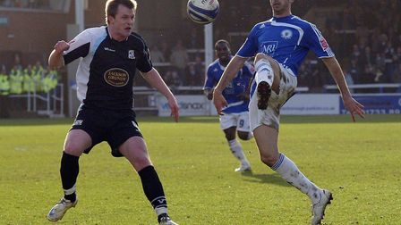 Tom Williams in action during his Peterborough United days. Picture: JOE DENT/WWW.THEPOSH.COM