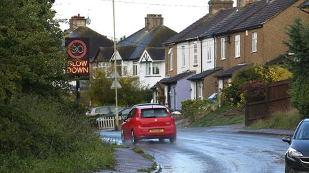 Residents are calling for traffic-calming measures on Shenley Lane. Picture: Danny Loo