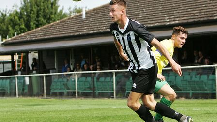 A Jack Woods goal sent Colney Heath through in the FA Vase. Picture: KARYN HADDON