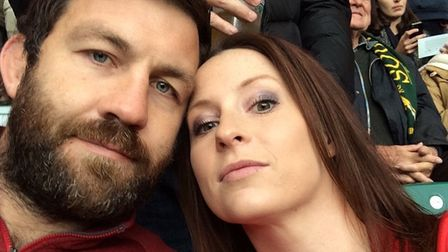 Charlotte and Chris Waring, who are being affected by the IVF funding suspension