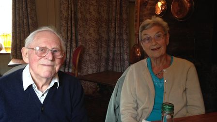 Claude and Rita Browne are hoping they will be reunited with Claude's wedding ring.