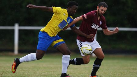 Harpenden Town have been quietly moving up the table this year. Picture: KARYN HADDON