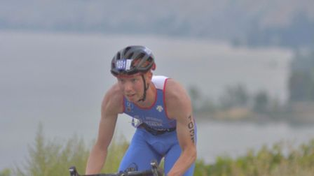 Robbie Lightowler of St Albans has become a double world champion in aquathlon and duathlon.