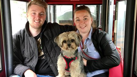 Tom and Haidee married two years ago and are keen on starting a family. Picture: Courtesy of Dulcie