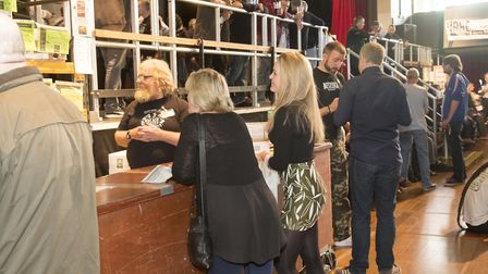 TERRY RICHARDS PHOTOGRAPHY.St Albans Beer and Cider Festival at the Alban Arena in September 2016.