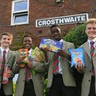 St George's School pupils have raised cash for Barbuda relief efforts following Hurricane Irma.