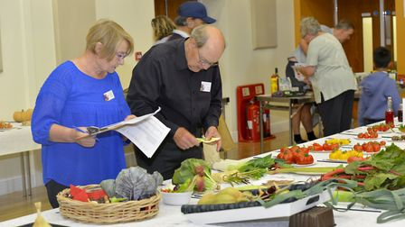 St Ives Produce Flower and Craft Show was held at the Corn Exchange.