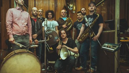 The Hackney Colliery Band will be at the Cambridge Junction in November.