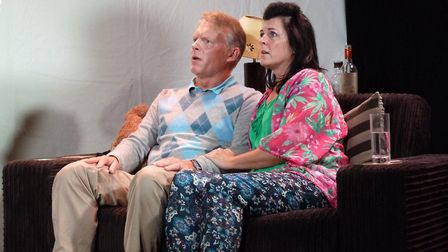 Nigel Fairs and Kat Rogers play Martyn and Shanny Redmond in The House