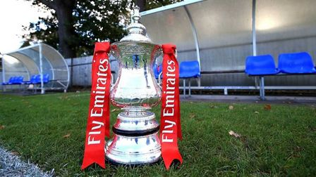 Hitchin Town's dreams of an FA Cup run are over for another year