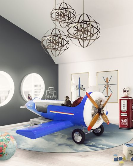 The Sky One plane bed from Circu is inspired by a character from the Disney film, Planes. £17,316, w