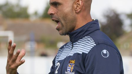 St Neots Town manager Matt Clements has called for improvement. Picture: CLAIRE HOWES